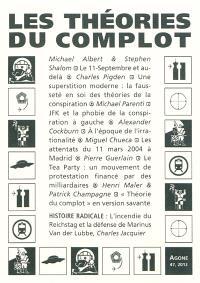 Agone. n° 47, Les théories du complot