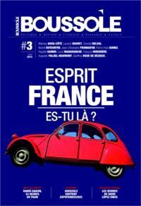 Boussole (La). n° 3, Esprit France, es-tu là ?
