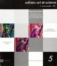 Cahiers art et science. n° 5, Marges, limites, frontières. 1
