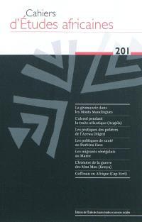 Cahiers d'études africaines. n° 201