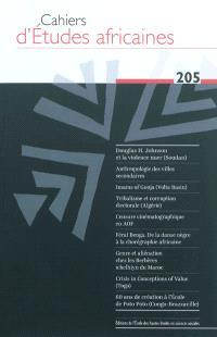Cahiers d'études africaines. n° 205