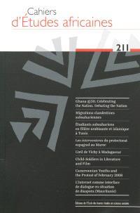 Cahiers d'études africaines. n° 211