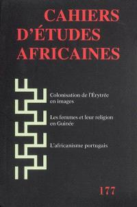Cahiers d'études africaines. n° 177