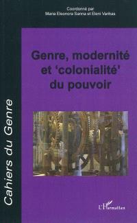 Cahiers du genre. n° 50, Genre, modernité et colonialité du pouvoir