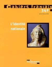 Cahiers français. n° 342, L'identité nationale