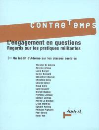 Contretemps. n° 19, L'engagement en questions : regards sur les pratiques militantes