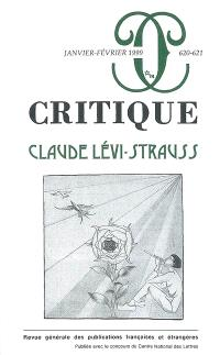Critique. n° 620, Claude Lévi-Strauss