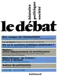 Débat (Le). n° 84