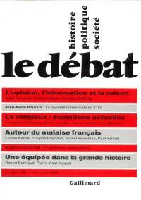 Débat (Le). n° 75