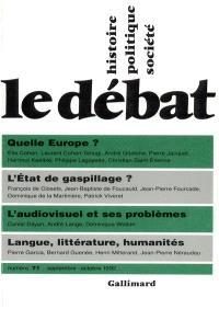 Débat (Le). n° 71