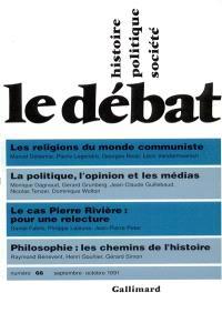 Débat (Le). n° 66