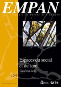 Empan. n° 54, Espace du social et du soin : lieux, non-lieux