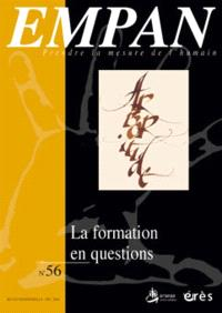 Empan. n° 56, La formation en questions