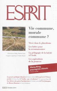 Esprit. n° 408, Vie commune, morale commune ?