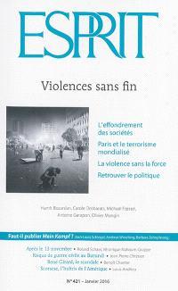 Esprit. n° 421, Violences sans fin