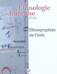 Ethnologie française. n° 3 (2011), Ethnographies de l'aide