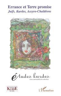 Etudes kurdes. n° 7, Errance et Terre promise : Juifs, Kurdes, Assyro-Chaldéens