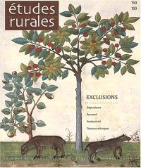Etudes rurales. n° 159-160, Exclusions
