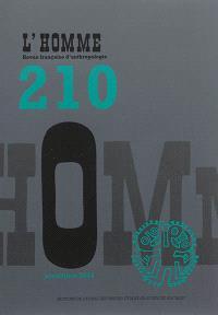 Homme (L'). n° 210, La parenté de nouveau en question