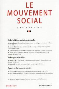 Mouvement social (Le). n° 242