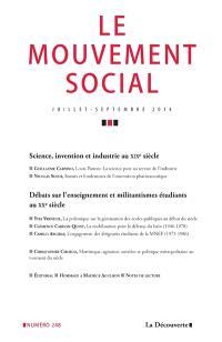 Mouvement social (Le). n° 248