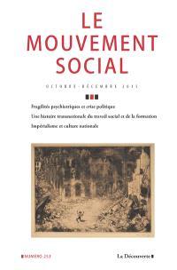 Mouvement social (Le). n° 253