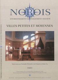 Norois. n° n°223, Villes petites et moyennes