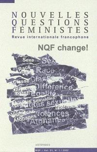 Nouvelles questions féministes. n° 1 (2002)