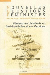 Nouvelles questions féministes. n° 2 (2005), Féminismes dissidents en Amérique latine et aux Caraïbes