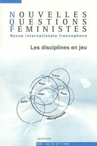 Nouvelles questions féministes. n° 1 (2004), Les disciplines en jeu