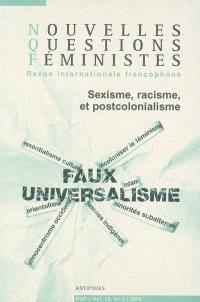 Nouvelles questions féministes. n° 3 (2006), Sexisme, racisme et postcolonialisme