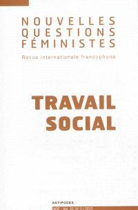 Nouvelles questions féministes. n° 2 (2013), Travail social