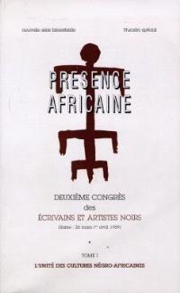 Présence africaine. n° 24-25, Deuxième congrès des écrivains et artistes noirs : Rome, 26 mars-1er avril 1959 : l'unité des cultures négro-africaines (1)