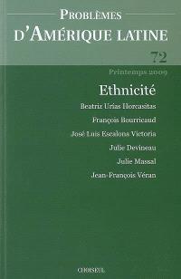 Problèmes d'Amérique latine. n° 72, Ethnicité