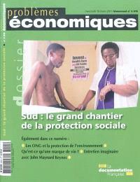 Problèmes économiques. n° 3015, Sud : le grand chantier de la protection sociale