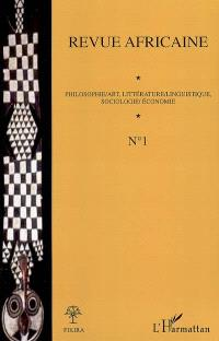 Revue africaine. n° 1