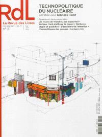 Revue des livres (La). n° 11, Technopolitique du nucléaire