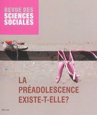 Revue des sciences sociales. n° 51, La préadolescence existe-t-elle ?