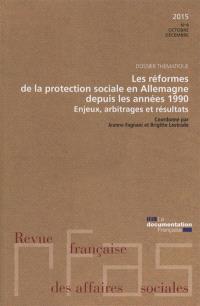 Revue française des affaires sociales. n° 4 (2015), Les réformes de la protection sociale en Allemagne depuis les années 1990 : enjeux, arbitrages et résultats