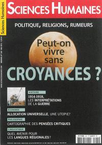 Sciences humaines. n° 260