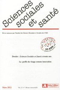 Sciences sociales et santé. n° 31