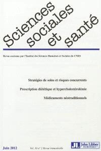 Sciences sociales et santé. n° 30-2