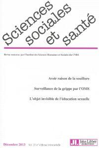 Sciences sociales et santé. n° 4 (2013)