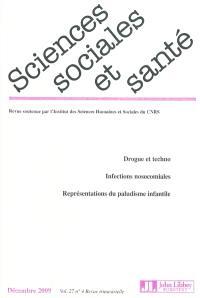 Sciences sociales et santé. n° 4 (2009)
