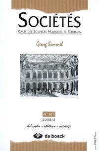 Sociétés. n° 101, Georg Simmel