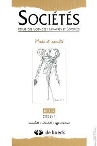 Sociétés. n° 102, Mode et société