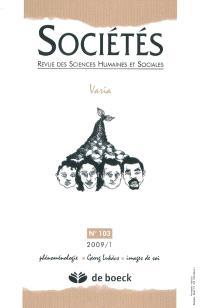 Sociétés. n° 103, Varia