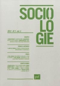 Sociologie. n° 2 (2012)