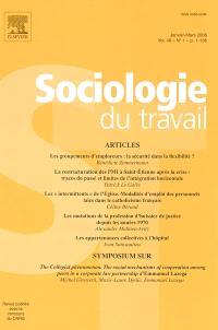 Sociologie du travail. n° 1 (2006)