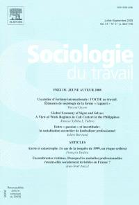 Sociologie du travail. n° 3 (2009)